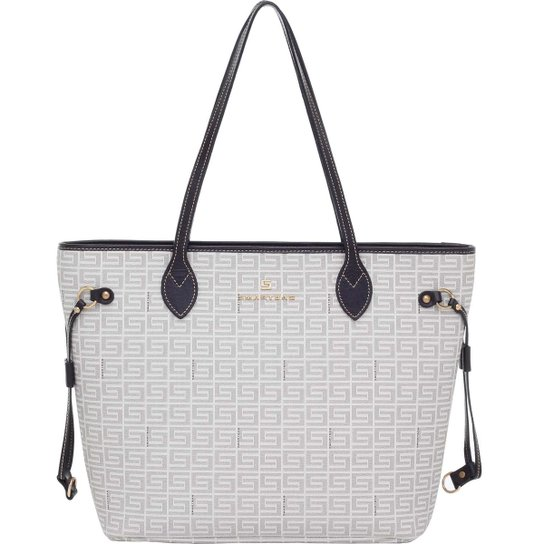 0159a5ec3 Bolsa Smart Bag Tiracolo Veneza Couro - Off White. Loading.