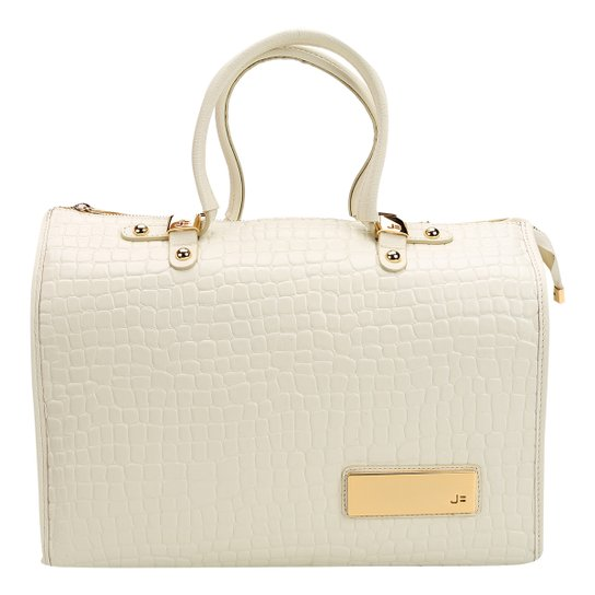 fba29eee8 Bolsa Couro Jorge Bischoff Doctor Bag Logo Croco Feminina - Compre ...