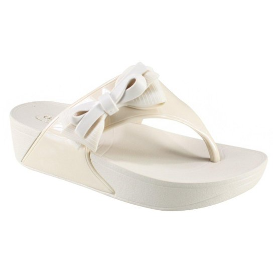 e865701b31 Tamanco Azaleia Tropical Feminino - Off White