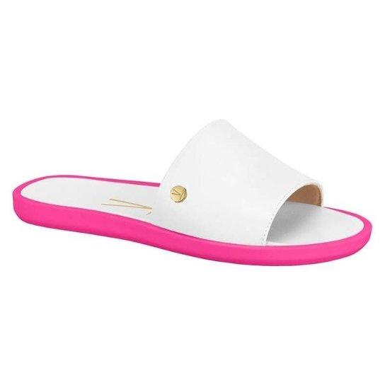 e8d454935 Chinelo Slide Vizzano Feminino - Branco e Pink - Compre Agora