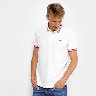 c5c049de2f Camisa Polo Triton Básica Bordado Masculina