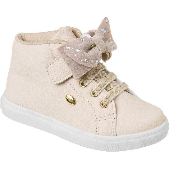 e682ccbb4 Tênis Infantil Klin Baby Gloss Street Bow Feminino - Compre Agora ...