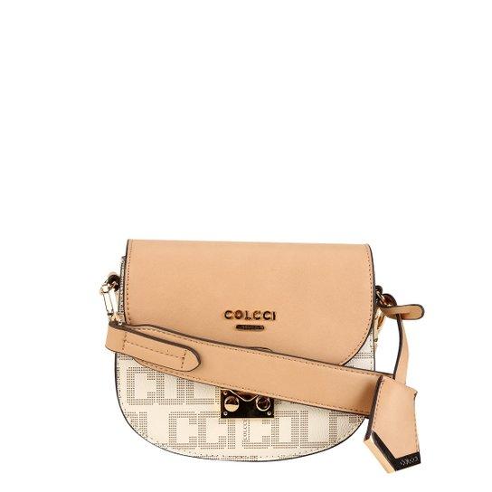 799048f3e Bolsa Colcci Mini Bag Selaria Logomania Feminina - Off White