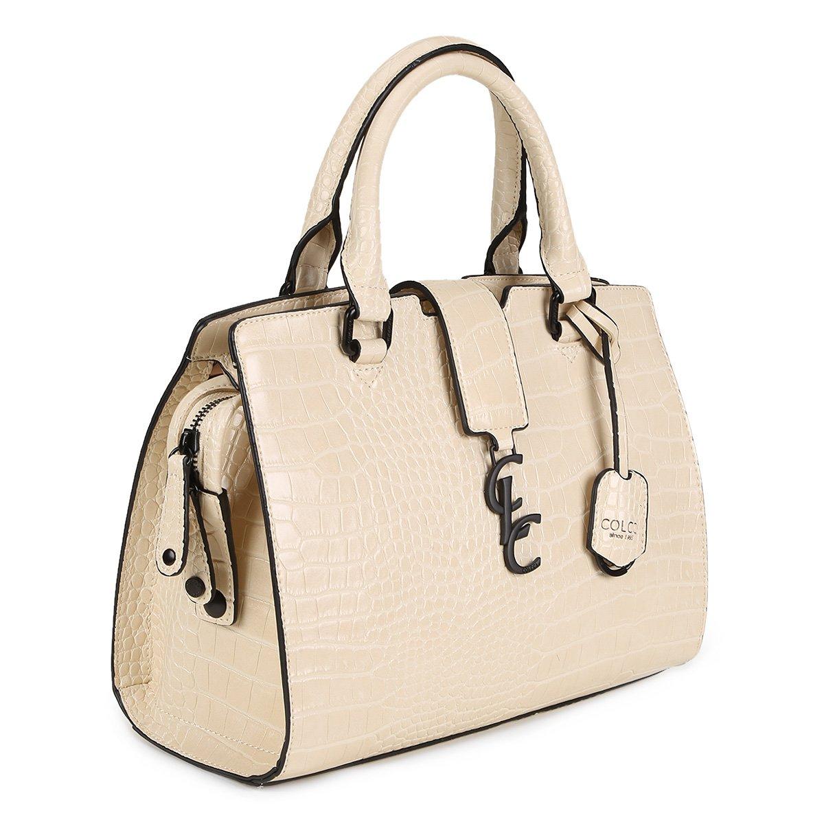 7e6738729 Bolsa Colcci Baú Textura Croco Chaveiro Logo Feminina   Livelo -Sua Vida  com Mais Recompensas