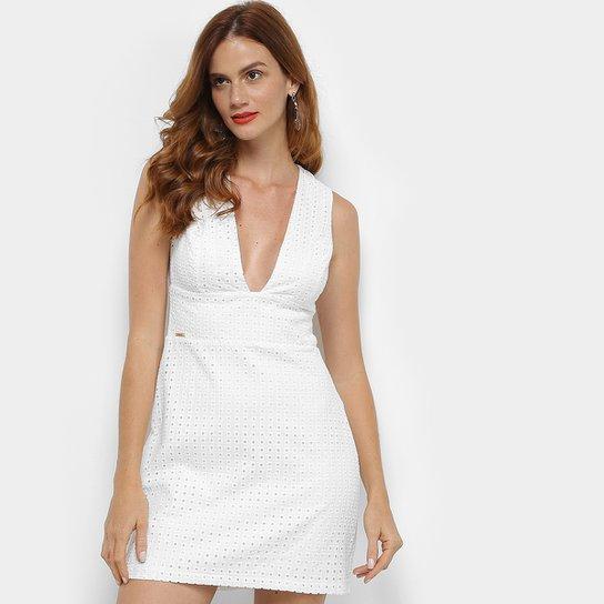 f17bd033f Vestido em Laise Colcci Feminino - Off White | Zattini
