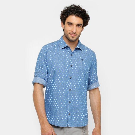 ecd2dae79e Camisa Forum Tric Bord Lavada Masculina - Compre Agora