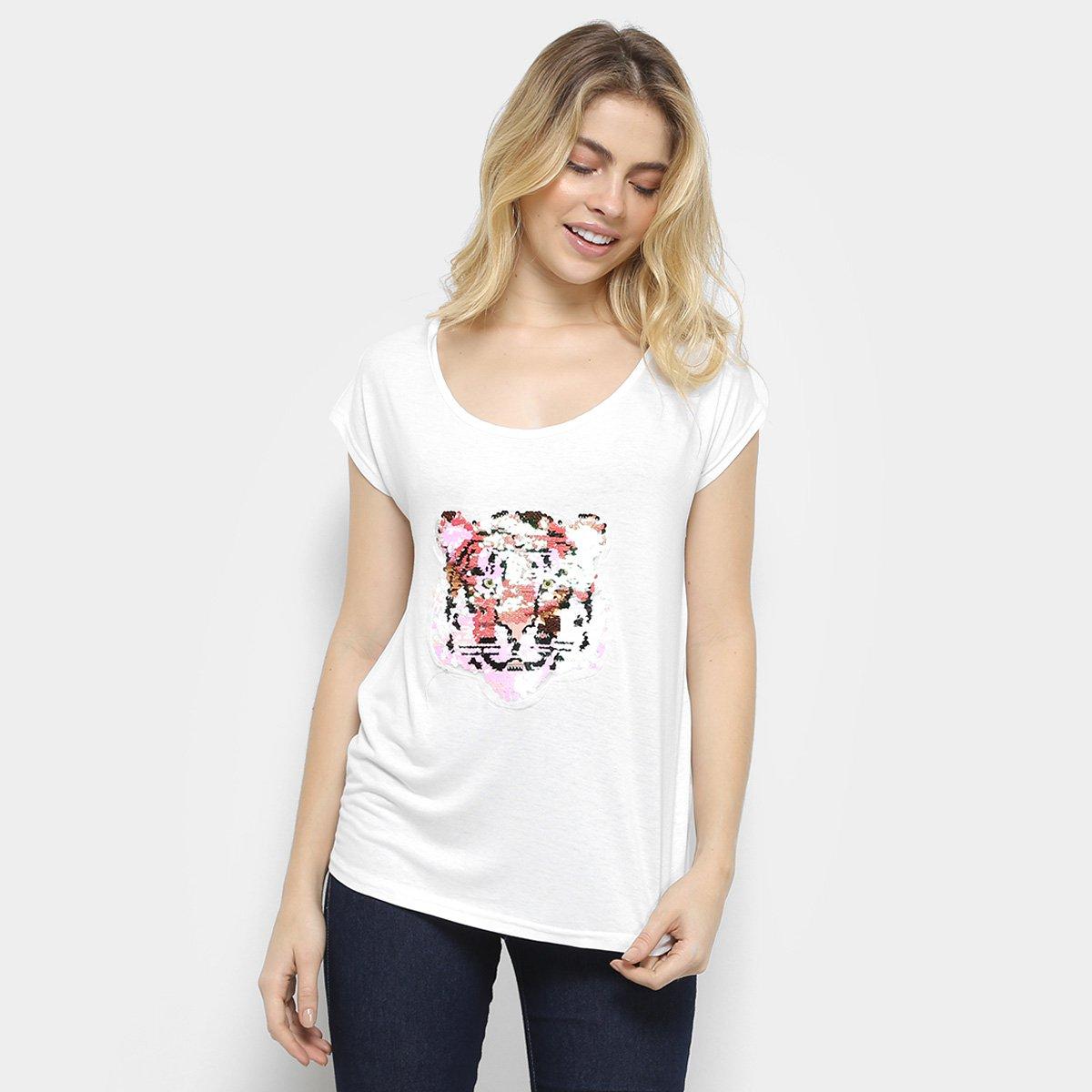 Blusa Holin Stone Tigre Feminina f6c20174ee9