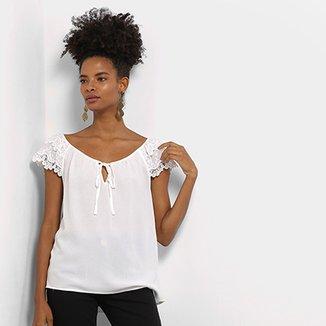 Blusas Femininas - Compre Blusinhas da Moda  45300cdc3fdf1