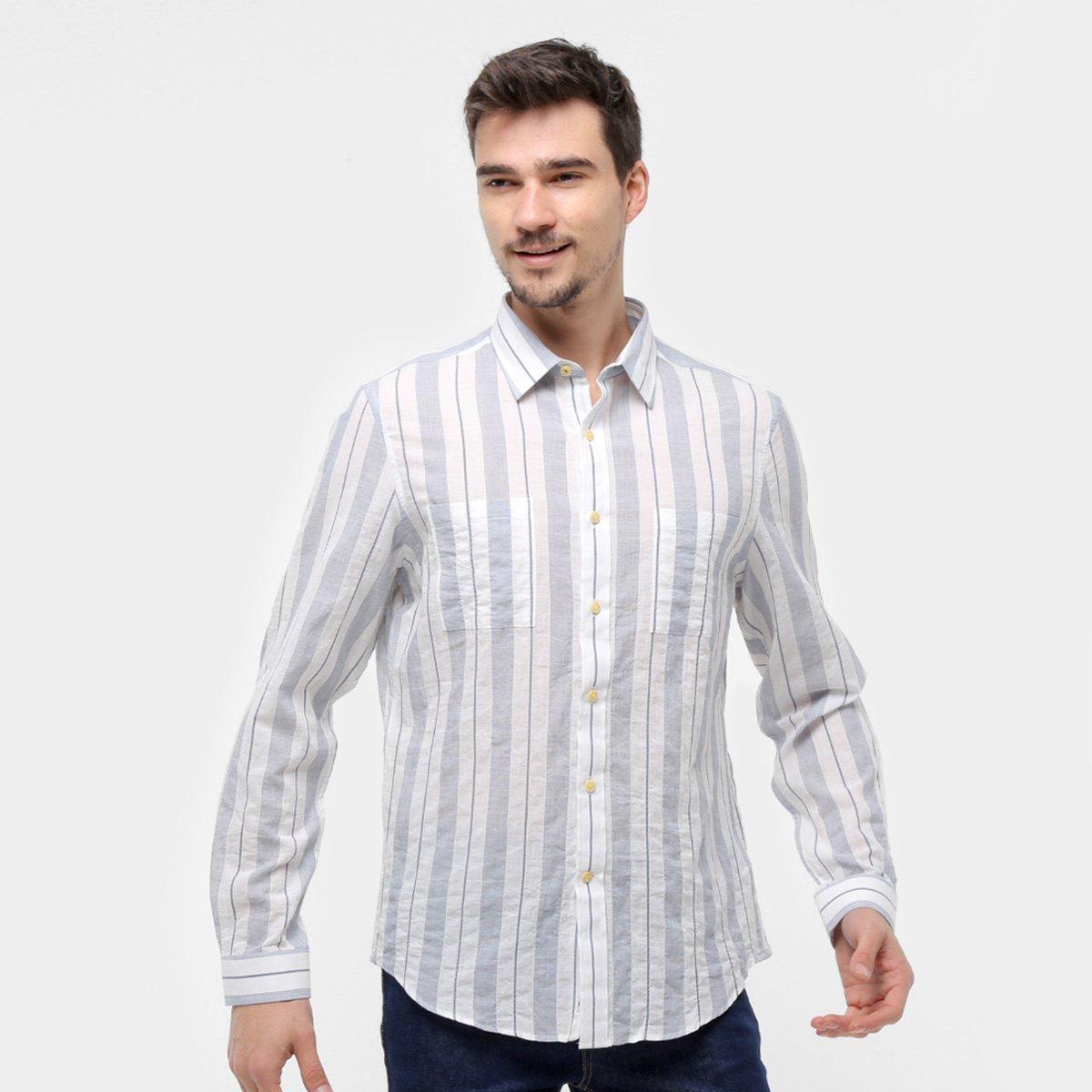 Camisa Manga Longa Richards Listrada Masculina