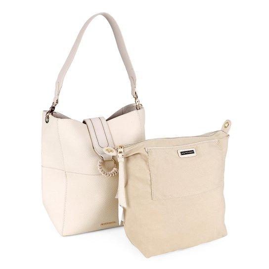 fdec7ddb3a Bolsa Ana Hickmann Handbag Nécessaire Feminina - Compre Agora