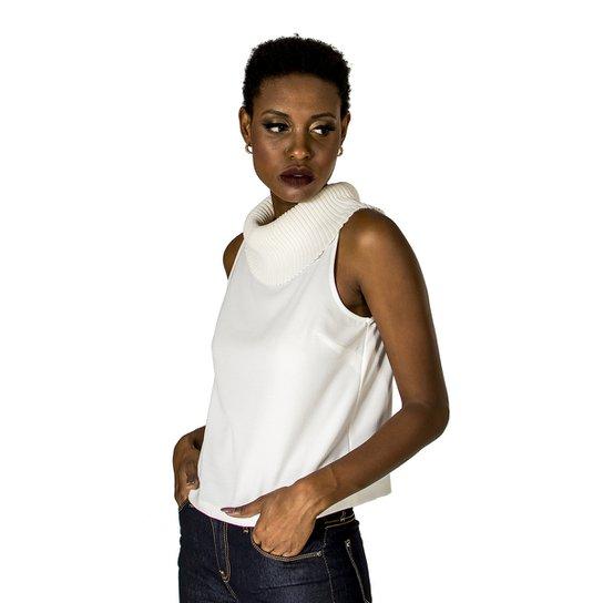 80f03fec9 Blusa Gola Alphorria Feminina - Off White | Zattini