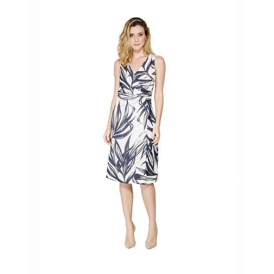 Vestido Regata Decote Cache Coeur Alphorria - Off White - Compre ... 2637cb2ed7
