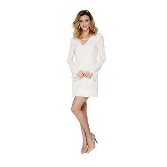 521dd5e17 Vestidos Alphorria Feminino Off White | Zattini