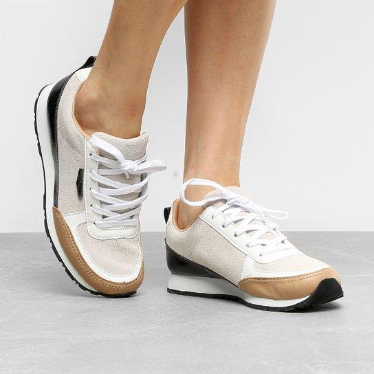 65997558417 Tênis Couro Kipling Jogging Tricolor Feminino - Compre Agora