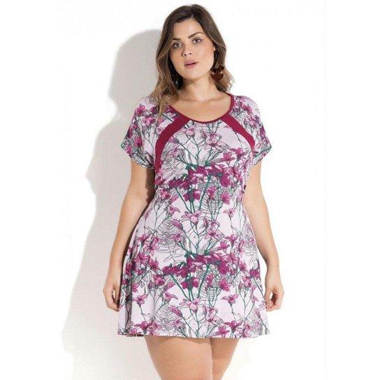53e0b76858 Vestido Quintess Curto Plus Size - Compre Agora