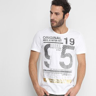aaf4d5fd69 Camiseta Kohmar Estampada Manga Curta Masculina