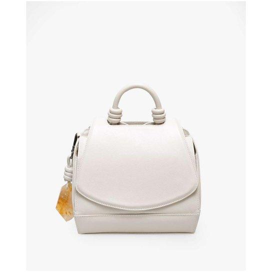 13c6f2982 Mini Bolsa Paseo Krystallos Soleah - Off White | Zattini