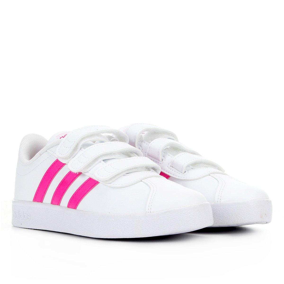 Tênis Infantil Adidas Vl Court 2.0 Cmf C