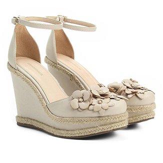 5456fdca59 Espadrille Shoestock Anabela Flores Feminina