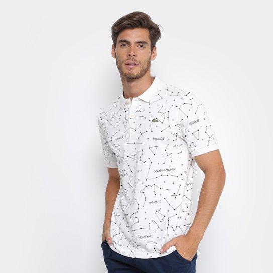 Camisa Polo Lacoste Piquet Constelação Masculina - Compre Agora ... 0da24c8c3a