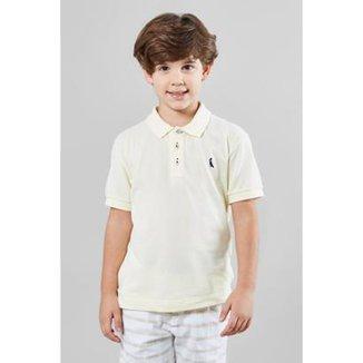 b6489342789b1 Camisa Polo Infantil Básica Reserva Mini Masculina