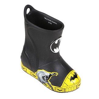 8faf03a3982 Bota Infantil Crocs Bump It Batman Masculina
