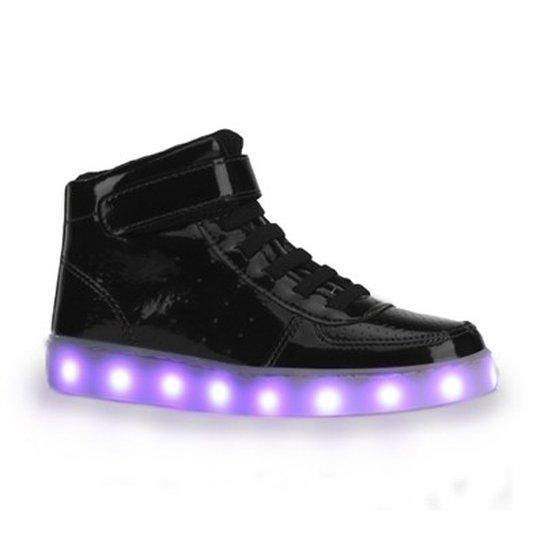 93fbfaf6da Tênis De LED Infantil Bibi Clique-se Colors Verniz - Compre Agora ...