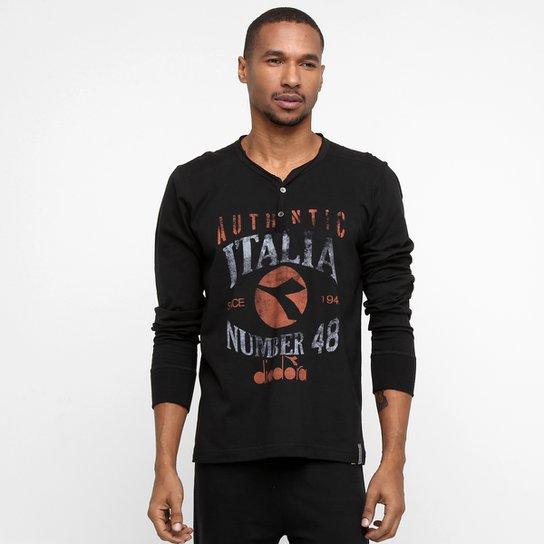 64d7e161a4 Camiseta Diadora Number - Compre Agora