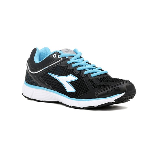 ec90d03d5fb Tênis Esporte Feminino Diadora Strike Preto azul - Compre Agora ...
