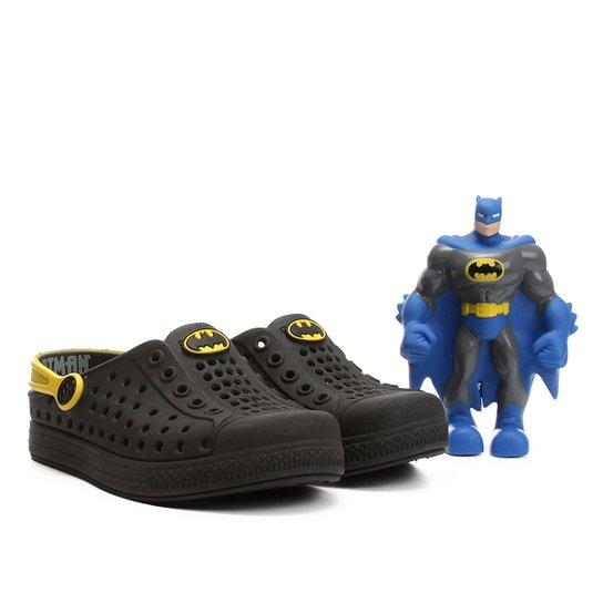 d3eccec860 Sandália Infantil Plugt Joy Batman Brinde Masculina - Compre Agora ...