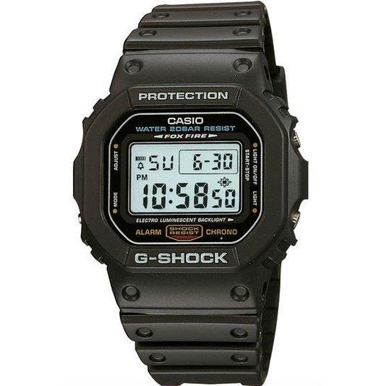 9ffd2b2dbf8 Relógio Casio G-Shock Dw-5600E-1Avdf - Preto - Compre Agora