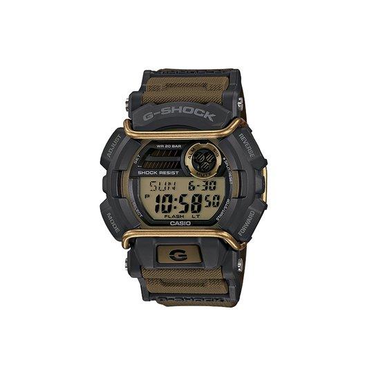 40ff1cf1850 Relógio G-Shock GD-400-9DR - Preto - Compre Agora