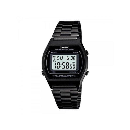 18a480ad193 Relógio Casio Vintage B640WB-1ADF - Preto - Compre Agora