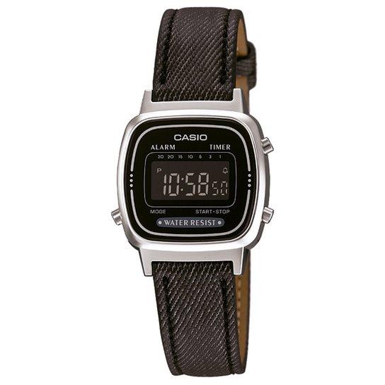 eecccd1cb38 Relógio Casio Digital LA670WL-1BDF Feminino - Compre Agora