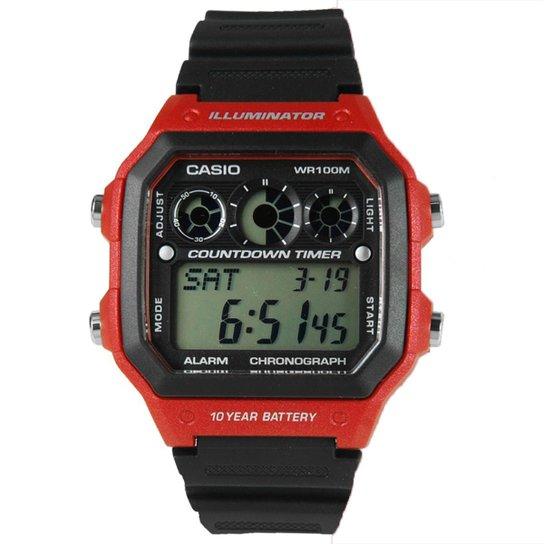 367ef8500ab Relogio Masculino Casio Digital Esportivo - Ae-13 - Compre Agora ...