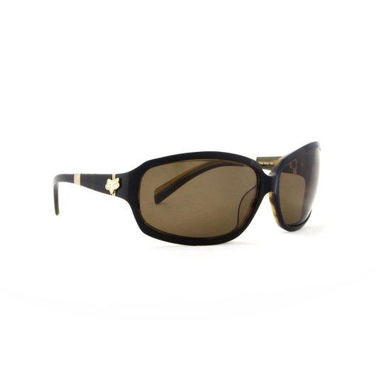 Óculos de Sol Fox Unissex com Lente - Preto - Compre Agora   Zattini 845f3de875