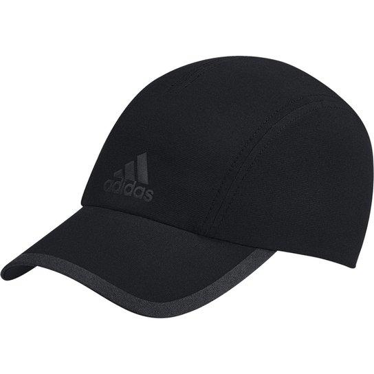68220c313575a Boné Adidas ClimaCool Aba Curva - Preto e Cinza - Compre Agora