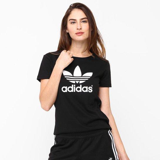 2d94b5f8f89 Camiseta Adidas Trefoil - Compre Agora