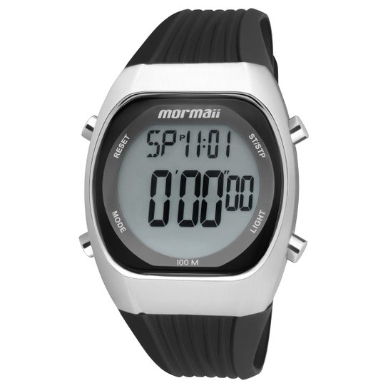 5a0b34781ff03 Relógio Mormaii Y11099 8P Masculino - Preto - Compre Agora