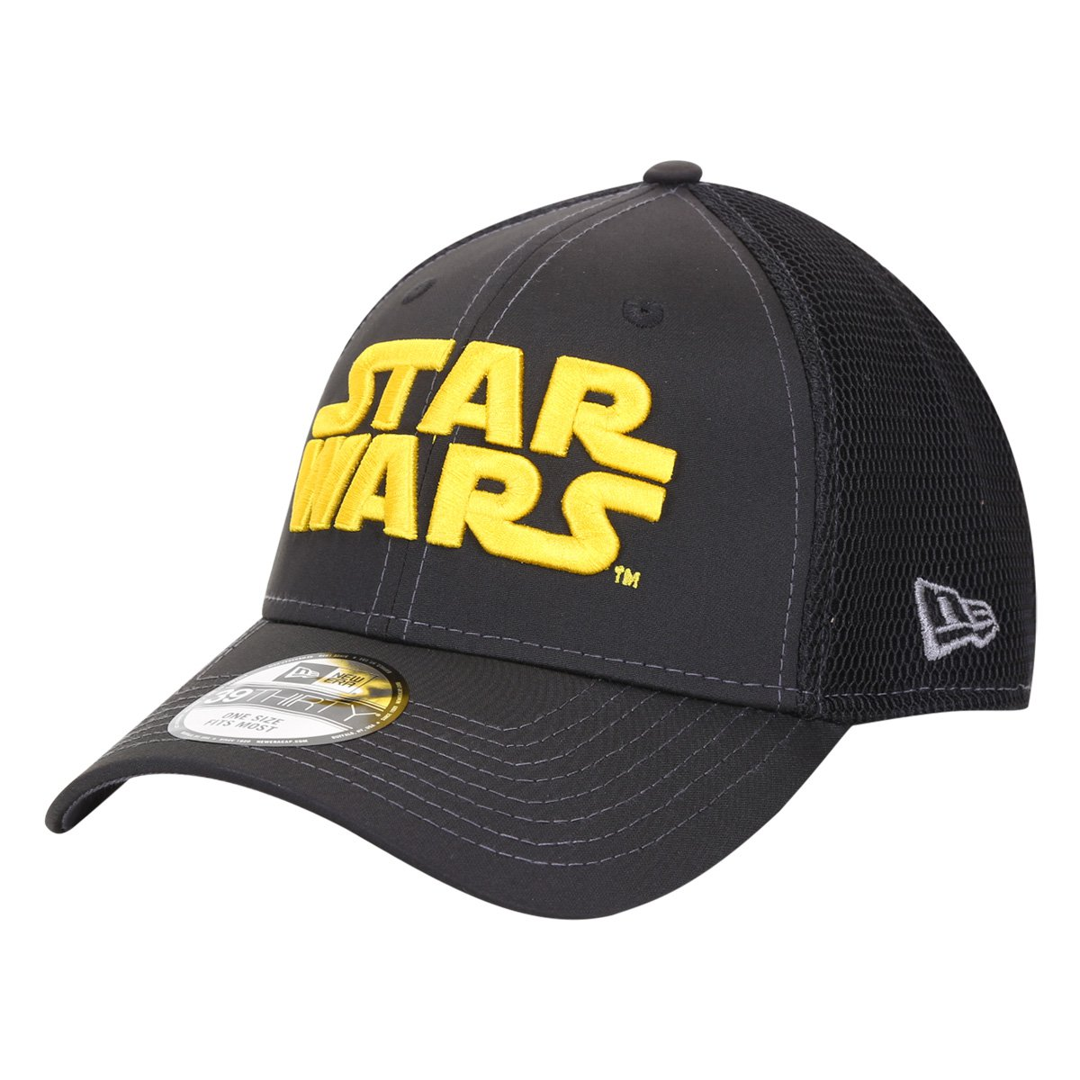 Boné New Era Aba Curva 39 Thirty Star Wars