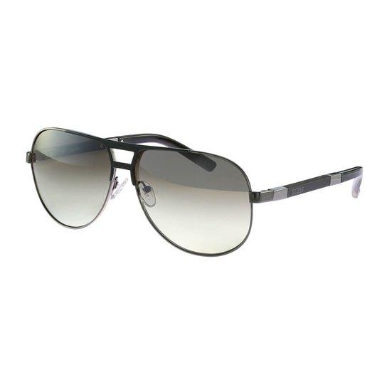 Óculos de Sol GUESS Casual Preto - Compre Agora   Zattini 8c5f115493