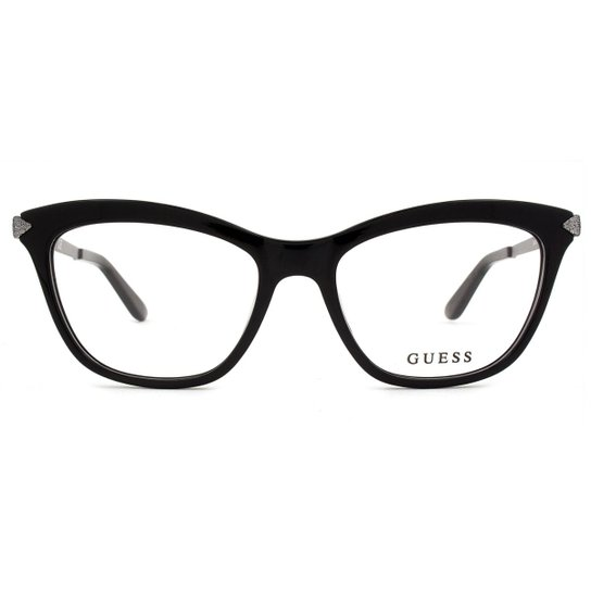c917c5c63 Óculos de Grau Guess Feminino - Preto   Zattini