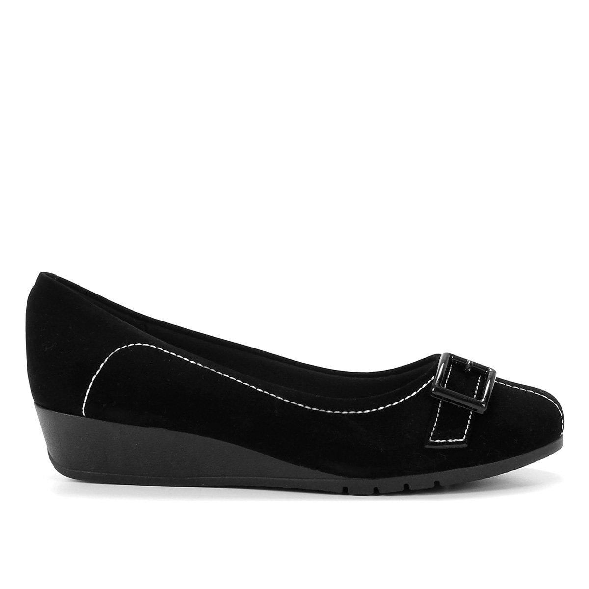 Sapato Moleca Básico Fivela Feminino