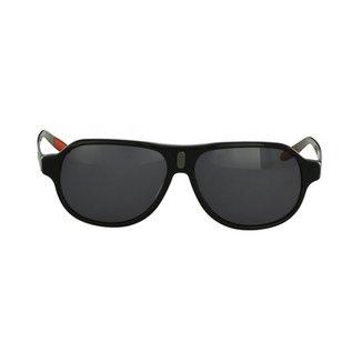29f49b9fad9c2 Óculos de Sol Harley Davidson Esportivo Preto