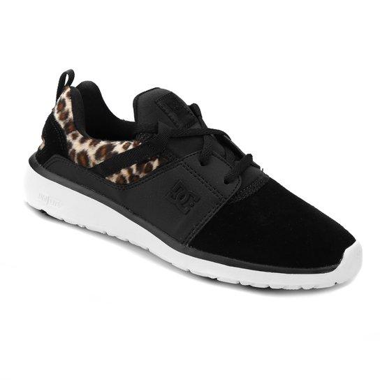 721a37c97 Tênis DC Shoes Heathrow Feminino - Preto   Zattini
