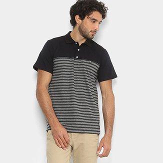 Camisa Polo DC Shoes Listras Masculina 7bd41ea961d