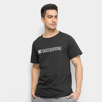 16163e0814 Camiseta Dc Shoes Slim Skateboarding Masculina