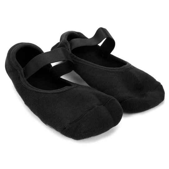 47300eae8 Meia Sapatilha Lupo Home Socks Antiderrapante - Preto