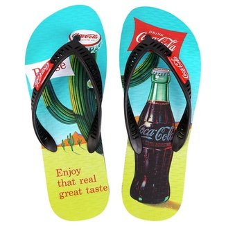 a50281afd0 Sandália Coca-Cola Arriba