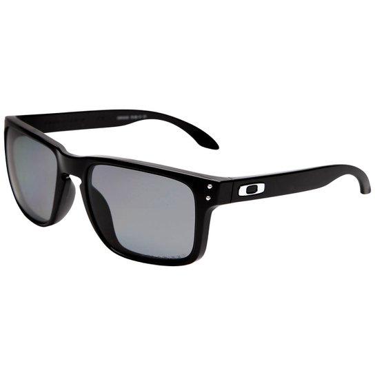 bd61395e8 Óculos de Sol Oakley Holbrook Masculino - Preto | Zattini
